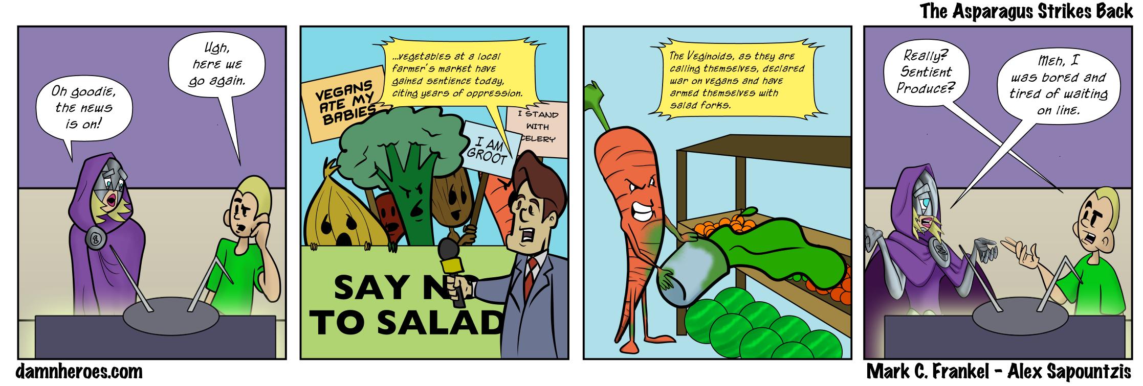 The Asparagus Strikes Back